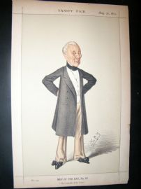 Vanity Fair Print 1873 Field Marshall William Gomm
